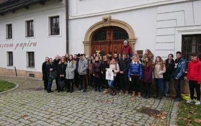Návštěva Muzea papíru aRuční papírny ve Velkých Losinách